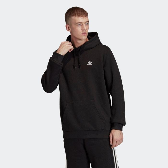 Sweat-shirt à capuche trefoil essentials
