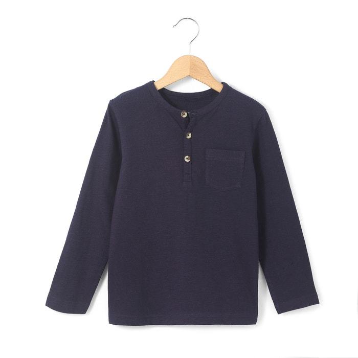 afbeelding T-shirt met lange mouwen en tuniekhals R essentiel