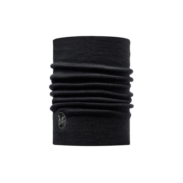 Heavyweight merino wool - foulard - noir noir Buff   La Redoute 34e817cc4ef