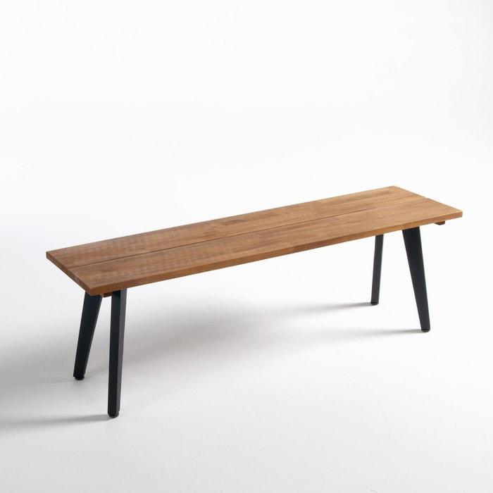 banc de jardin acacia fsc hiba acacia la redoute interieurs la redoute. Black Bedroom Furniture Sets. Home Design Ideas