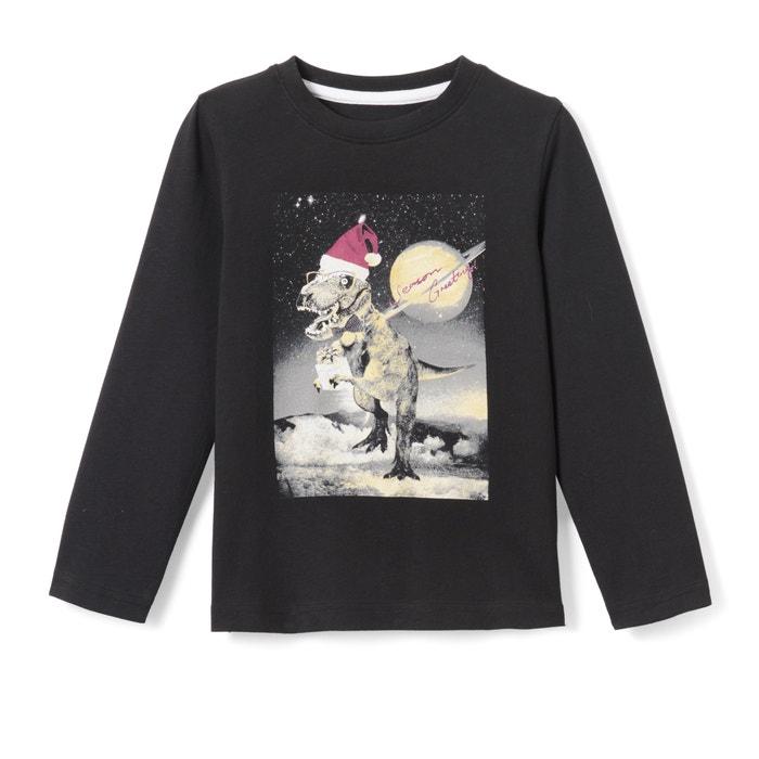 T-shirt natalizia 3 - 12 anni  La Redoute Collections image 0