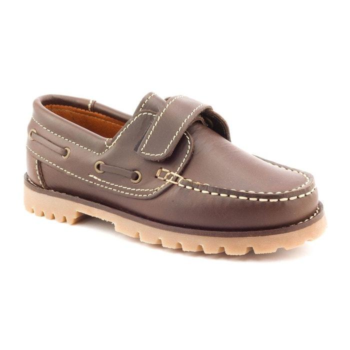 cdc913e6b108b Boni Marc - Chaussures Garçon cuir scratch BONI SIDONIE ...
