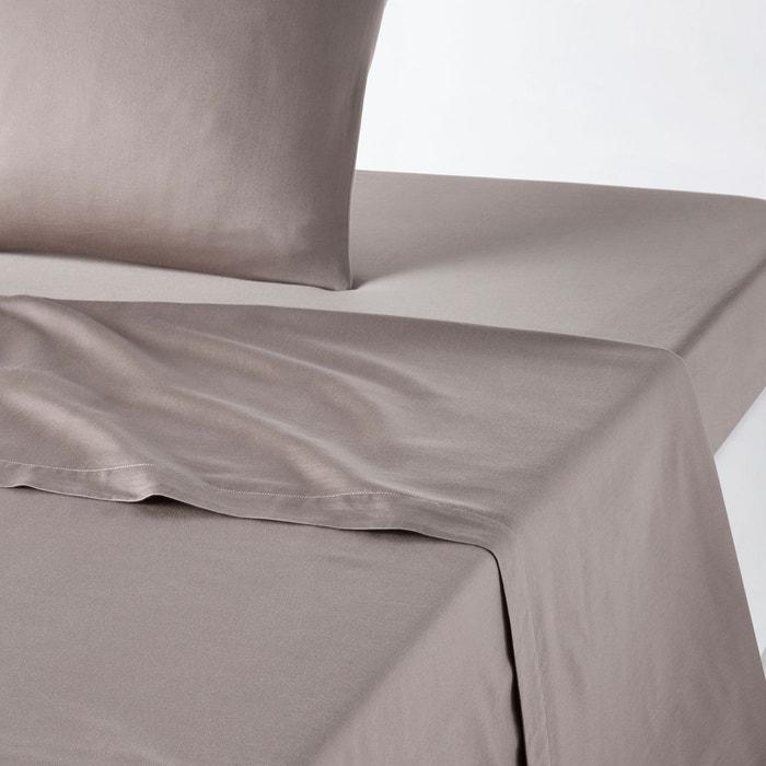 taie d 39 oreiller satin lav uni var se la redoute interieurs la redoute. Black Bedroom Furniture Sets. Home Design Ideas