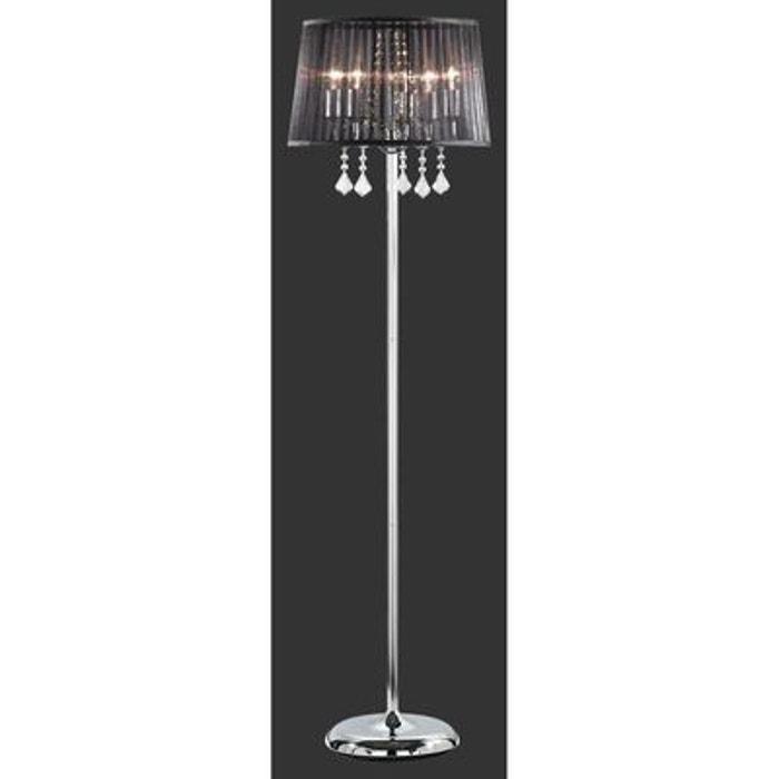 lampadaire leyla chrome trio lighting multicolore trio la redoute. Black Bedroom Furniture Sets. Home Design Ideas