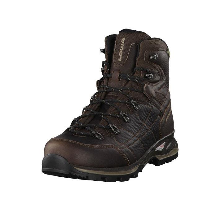 Chaussures de marche hudson gtx mid 210677  marron foncé Lowa  La Redoute