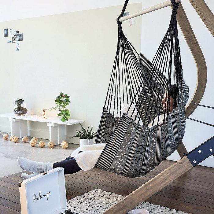 chaise hamac double sotavento gris nature et decouvertes. Black Bedroom Furniture Sets. Home Design Ideas
