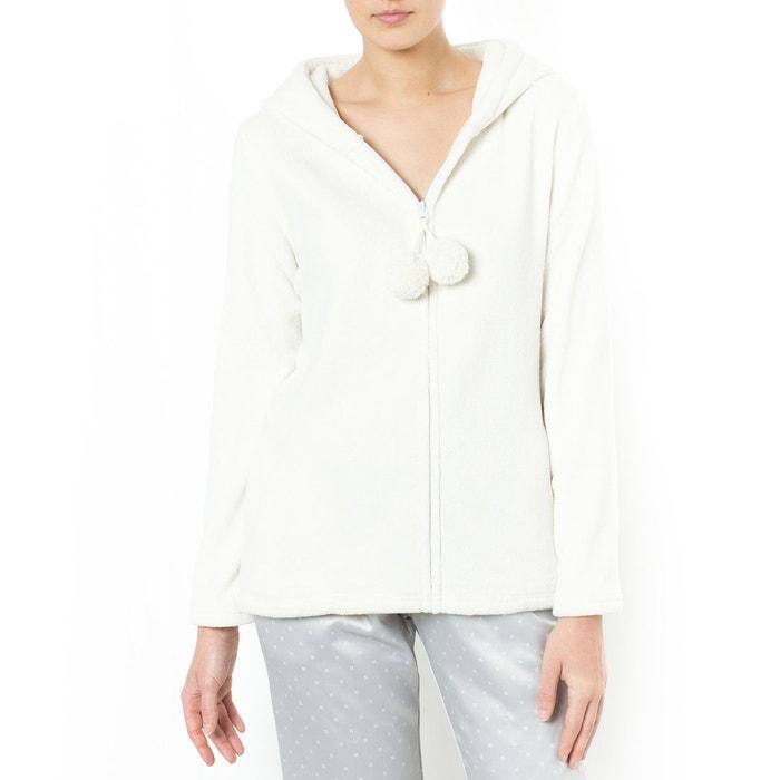 veste d 39 int rieur femme blanc ivoire love josephine la redoute. Black Bedroom Furniture Sets. Home Design Ideas