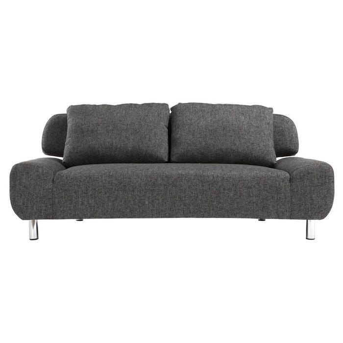 canap convertible design tulsa gris charbon miliboo la redoute. Black Bedroom Furniture Sets. Home Design Ideas