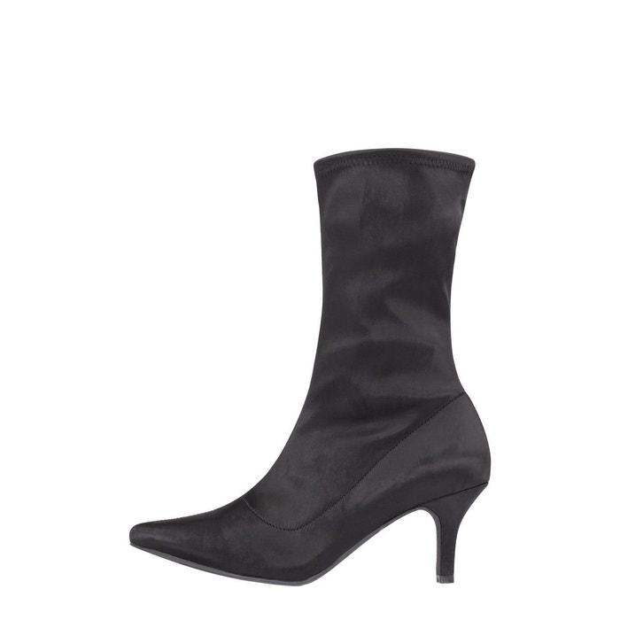 Bottes De Chaussettes femmes Bianco Noir 4lsu3o