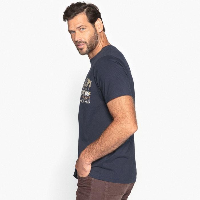 Image Tee shirt col tunisien, manches courtes CASTALUNA FOR MEN