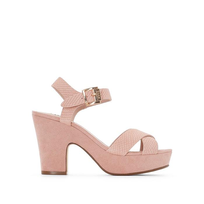 Lyla Heeled Platform Sandals