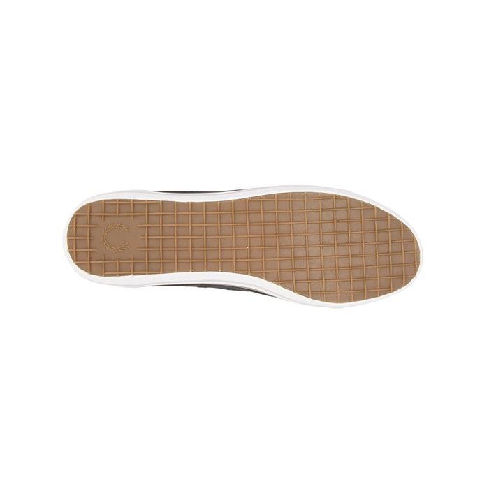 Baskets kingston noir Fred Perry