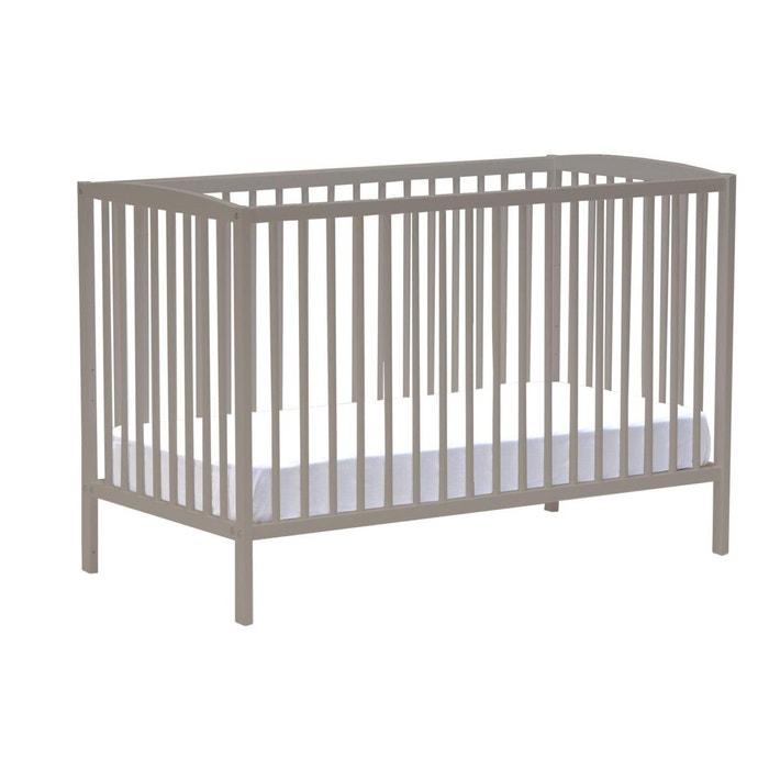 Lit bébé à sommier modulable 2 hauteurs, Tellie  LA REDOUTE INTERIEURS image 0