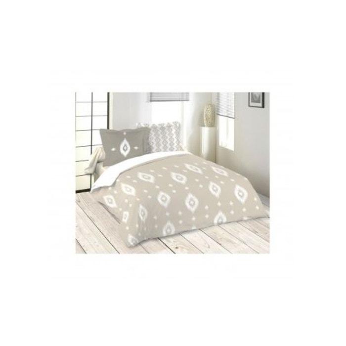 parure de lit esprit ethnique beige home maison la redoute. Black Bedroom Furniture Sets. Home Design Ideas