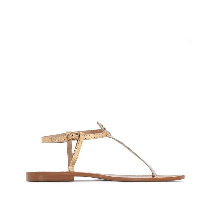 Sandales chloe or Le Temps Des Cerises