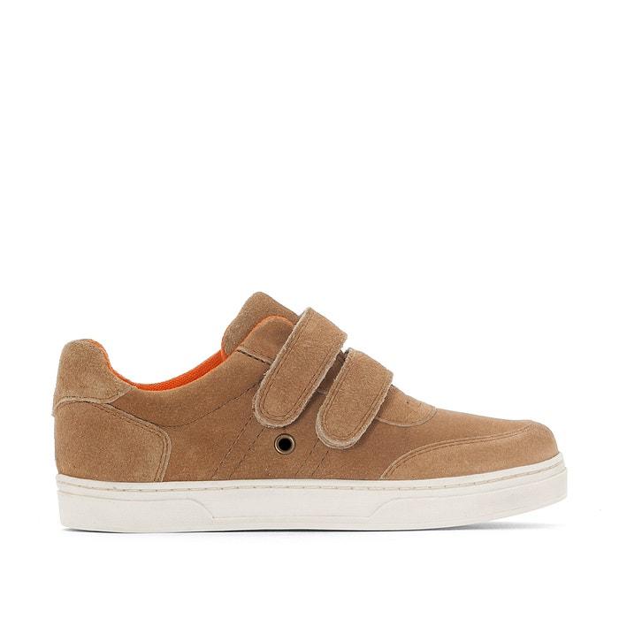 afbeelding Sneakers met klittenband en verstevigde top La Redoute Collections