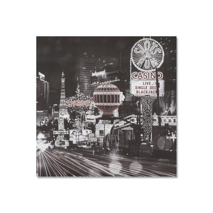 Paysages urbains 90×90 peinture acrylique carrée noir et