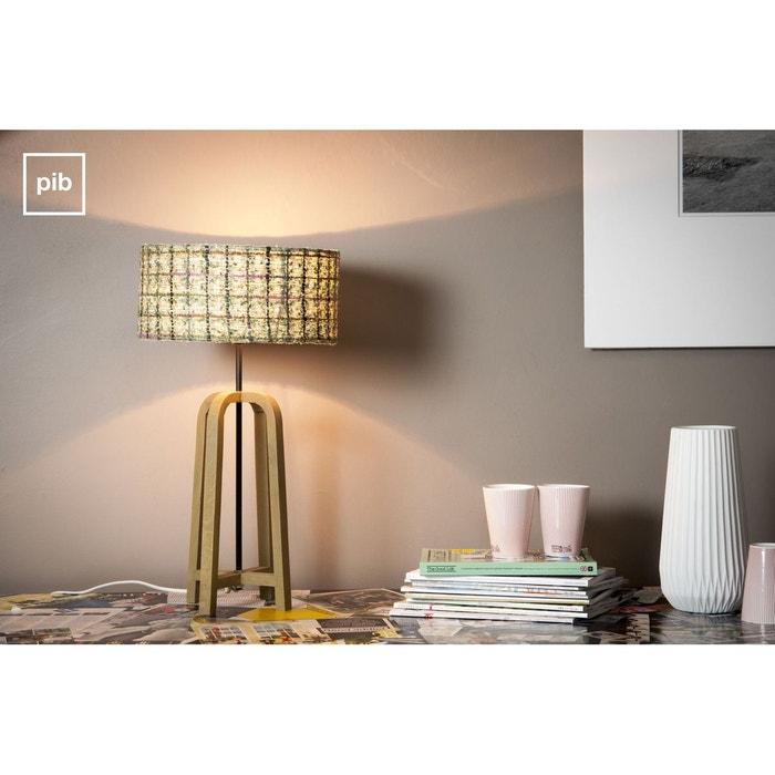 lampe de table andersen couleur unique produit interieur brut la redoute. Black Bedroom Furniture Sets. Home Design Ideas