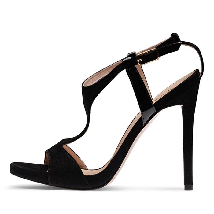 Sandales femme noir Evita