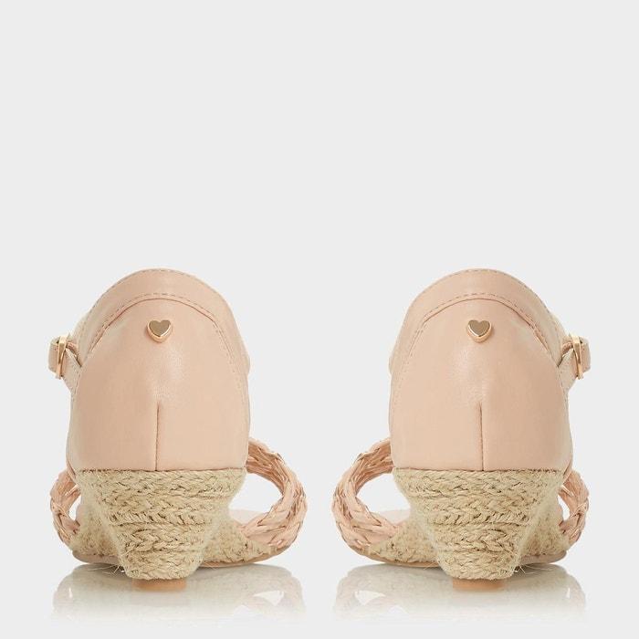 Espadrilles compensées en deux parties - kourt chair synthétique Head Over Heels By Dune