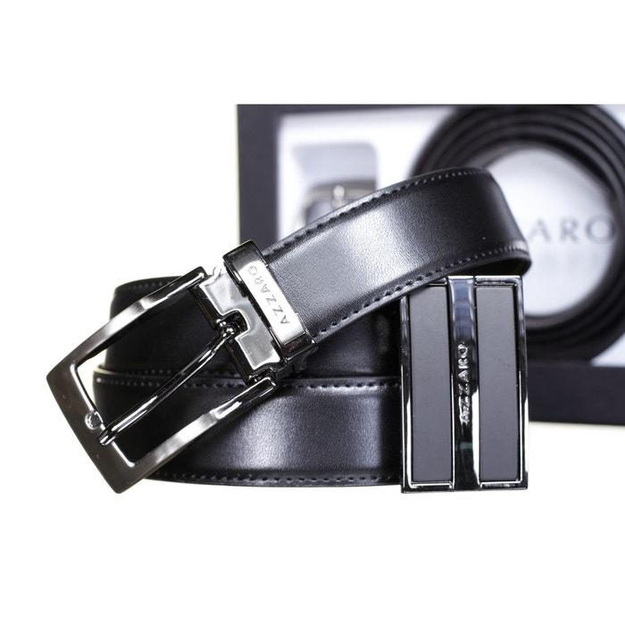 Ceinture reversible noir Azzaro   La Redoute c0fb51902f8