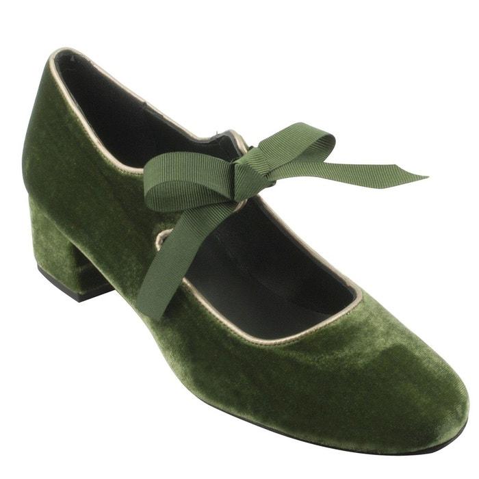 Chaussures à talons Exclusif zoé vert Paris PPrvqwzfg