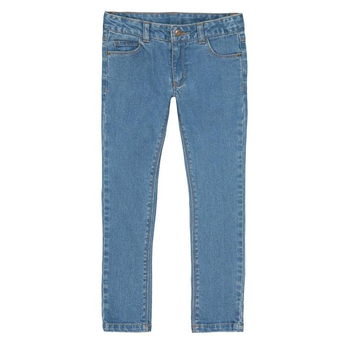 Jeans skinny morfologia larga 3 - 12 anni  La Redoute Collections image 0