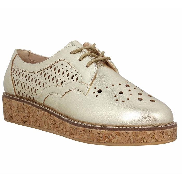 Chaussures à lacets SCHMOOVE Ariane Derby cuir Femme OrSchmoove EQ3evQq