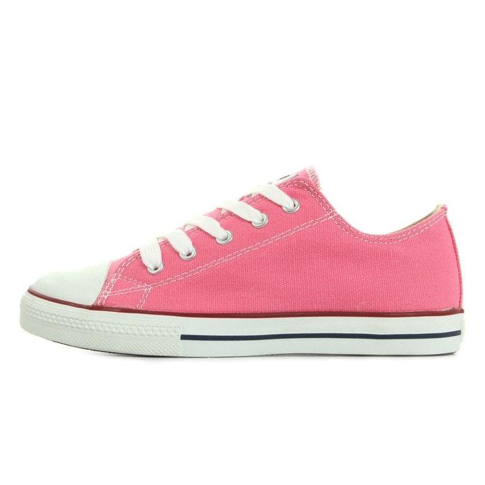 Zapatilla basket rose/blanc Victoria