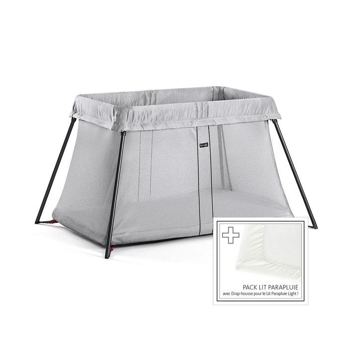 lit parapluie light argent plus drap housse 640002 silver babybjorn la redoute. Black Bedroom Furniture Sets. Home Design Ideas