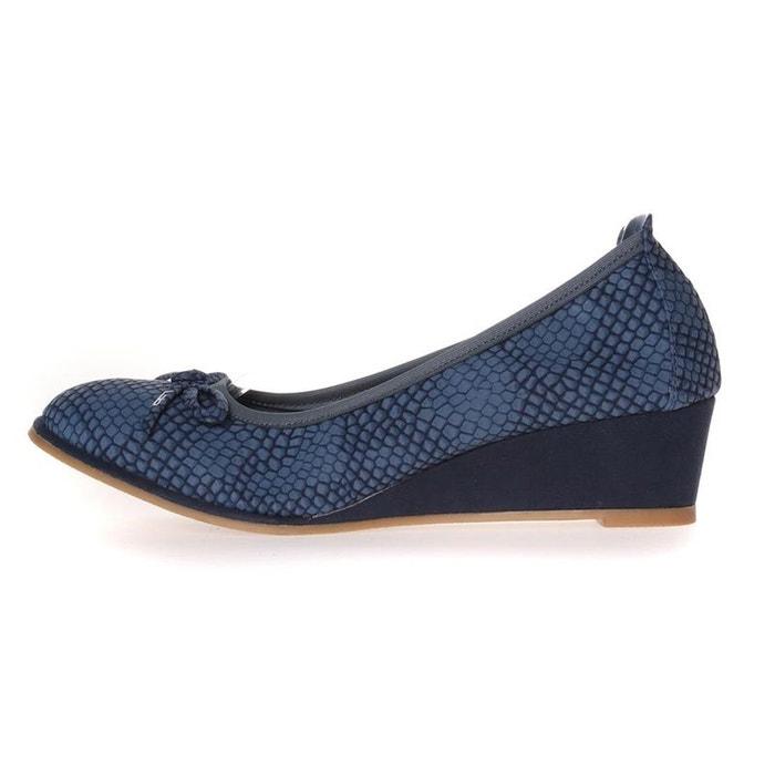 Ballerines  /  babies synthetique  bleu Lpb Shoes  La Redoute