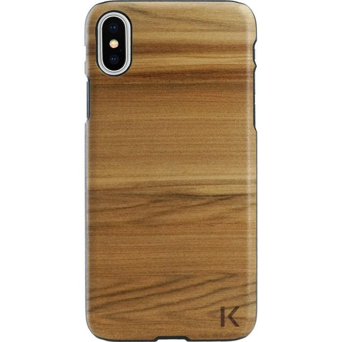 coque iphone x en bois