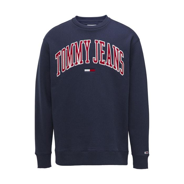Crew Collegiate Printed Sweatshirt Clean Neck bf67yg