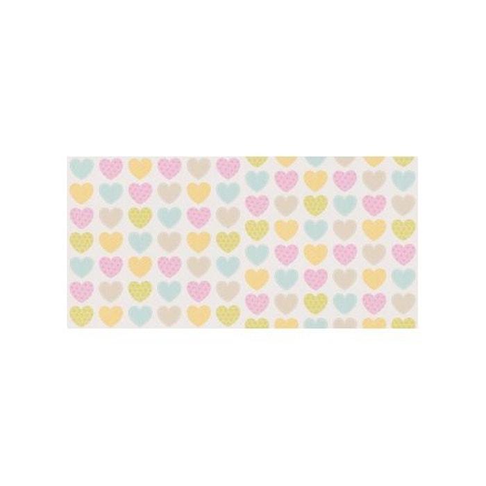 papier peint love hearts couleur unique home maison la redoute. Black Bedroom Furniture Sets. Home Design Ideas