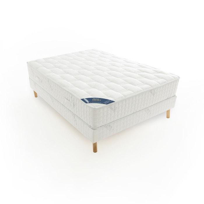 matelas ressorts ensach s confort luxe tr s ferme blanc gris reverie best la redoute. Black Bedroom Furniture Sets. Home Design Ideas
