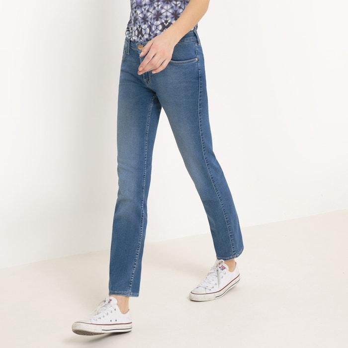 Straight-Cut Jeans, Standard Waist, Length 31