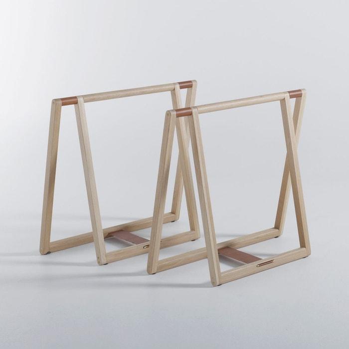tr teaux de bureau gary design e gallina ch ne am pm la redoute. Black Bedroom Furniture Sets. Home Design Ideas