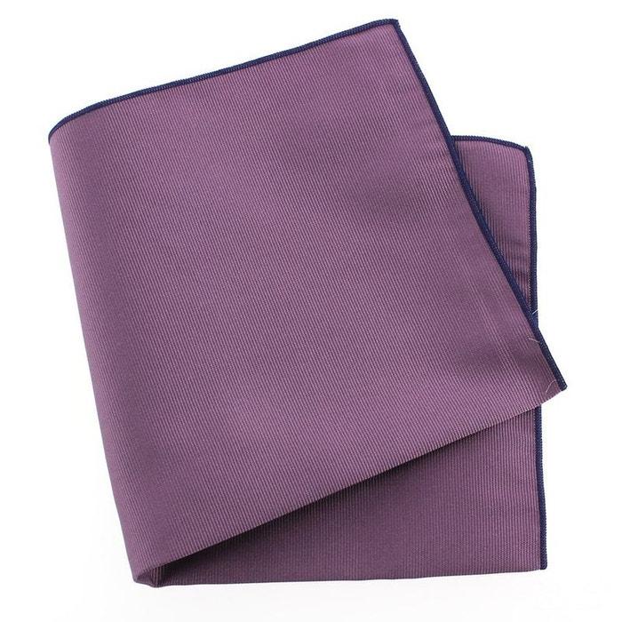 Pochette soie, parma, ourlet bleu royal violet Tony Et Paul | La Redoute