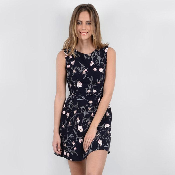 Short Floral Print Skater Dress  MOLLY BRACKEN image 0