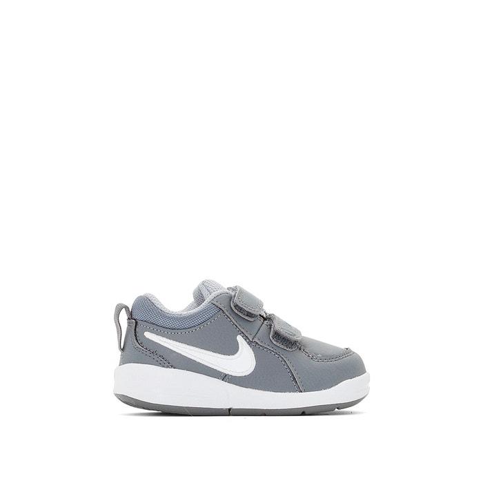 293215c563c66 Zapatillas con cierre autoadherente pico 4 (td) gris blanco Nike ...