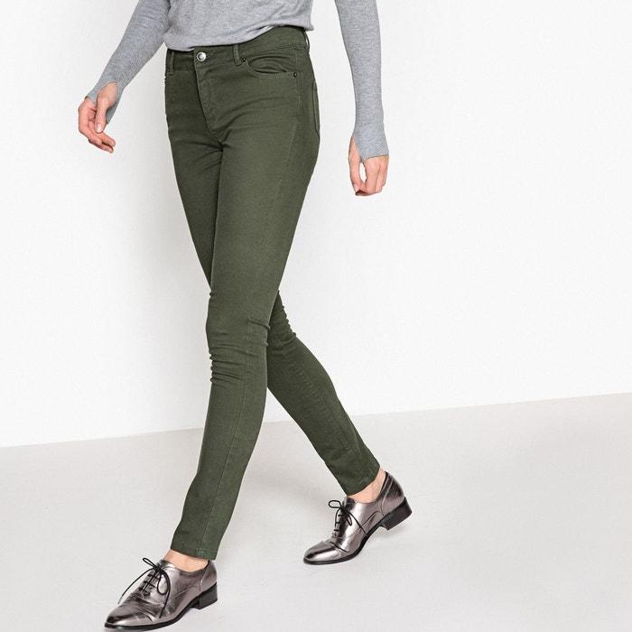 Pantalon slim, 5 poches, coton stretch La Redoute Collections