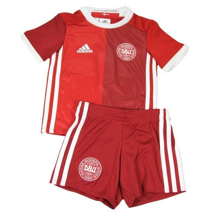 Adidas performance denmark dbu h minikit minikit de football enfant rouge  climalite rouge Adidas Performance  f732935b82c