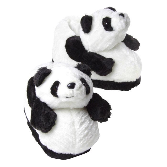 Chaussons animaux peluche homme - panda  blanc Sleeperz  La Redoute