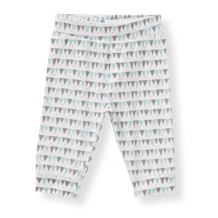 Image Legging en coton 0 mois-3 ans (lot de 2) La Redoute Collections