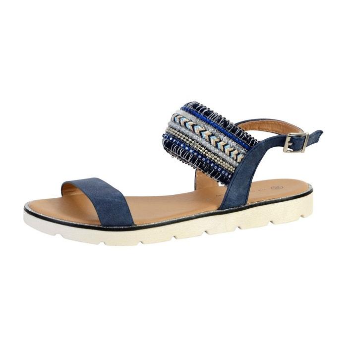 Sandale  bleu The Divine Factory  La Redoute