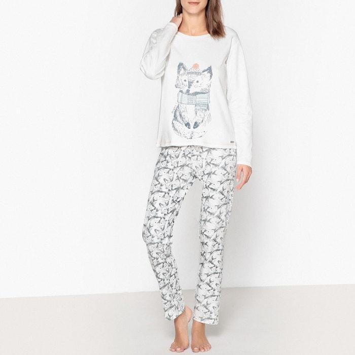 design de qualité 72ded 92b64 Pyjama coton imprimé renard