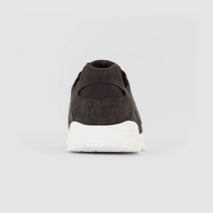 Baskets lcs r pure mono luxe noir Le Coq Sportif