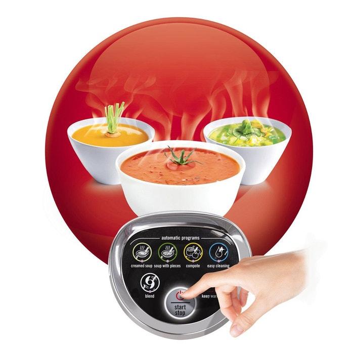 blender chauffant easy soup lm841110 gris m tal moulinex la redoute. Black Bedroom Furniture Sets. Home Design Ideas