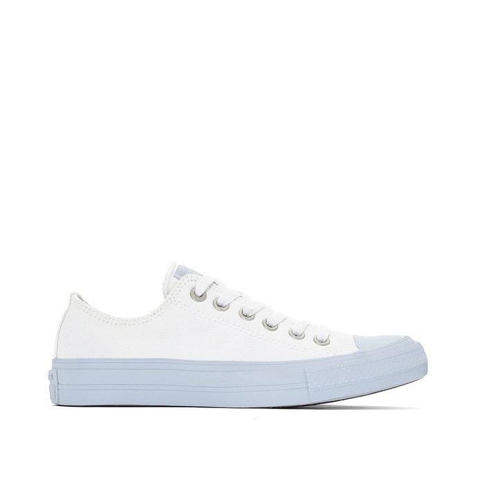 Baskets ctas ii ox pastel blanc Converse
