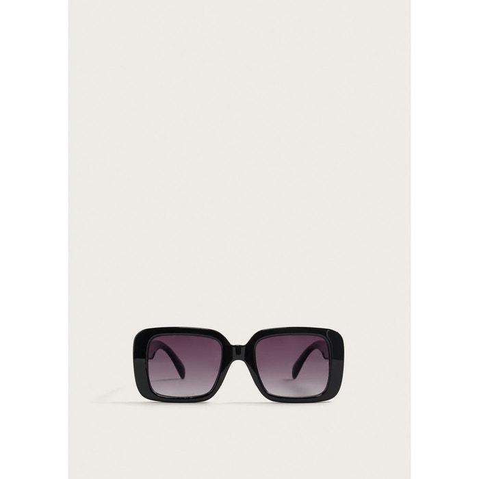 91cfc4c89e70fb Lunettes de soleil monture plastique noir Violeta By Mango   La Redoute